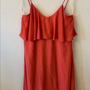 Pinkish Orange BCBG Generation maxi dress